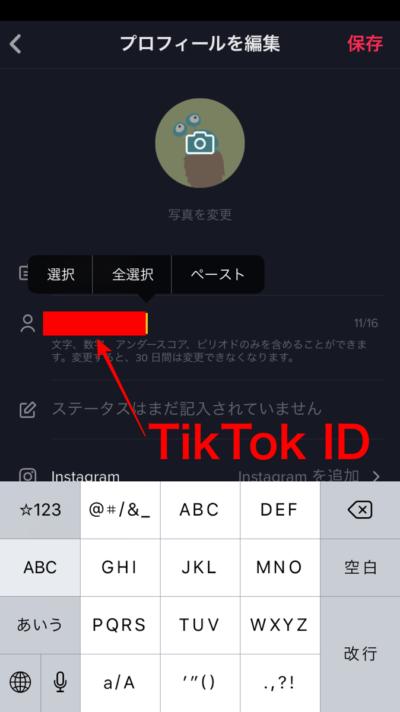 TikTok,ユーザー,ID,確認